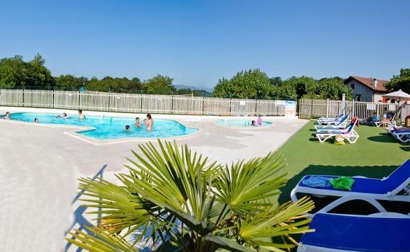 Camping pays basque avec piscine camping sare avec parc Camping cote basque avec piscine